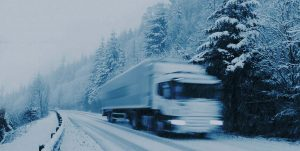 Trucks in winters